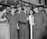 Washington DC parking meter, 1938