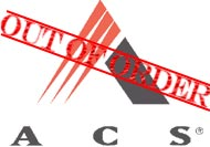 ACS out of order