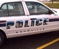 Asheville police car