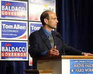 Gov. Baldacci photo by Kerry and Mary Lee Seed/Flickr