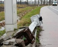 Beglian speed camera downed