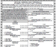 California ballot