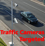 Traffic cameras targeted
