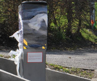 Cellophane speed camera