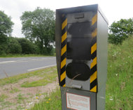 Clecy, France speed camera