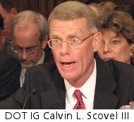 US DOT Inspector General Calvin L. Scovel III