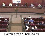 Dalton City Council, 4/6/09
