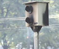Chemnitz, Germany red light camera