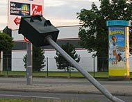German speed camera