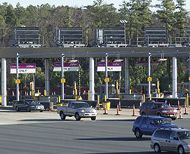 Dulles Greenway toll road