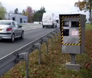 Speed camera in France