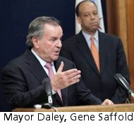 Mayor Daley, Gene Saffold