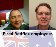 Fired Redflex workers