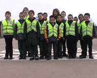Junior road safety officers