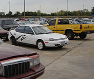 Impound lot photo by Steve Rainwater/Flickr