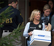 FBI and IRS raid, photo from IRS