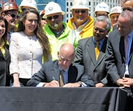 Jerry Brown bill signing
