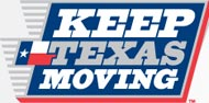 Keep Texas Moving logo