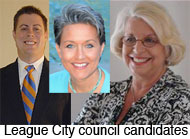 League City council candidates
