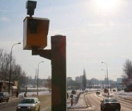Lublin speed camera