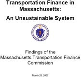 Transportation Finance Commission Report