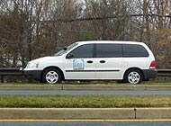 Montgomery County van Photo by: StopBigBrotherMD