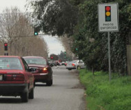 Menlo Park red light camera