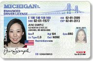 Enhanced Michigan license