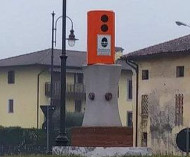 Monument speed camera