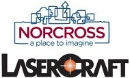 Norcross and Lasercraft logos