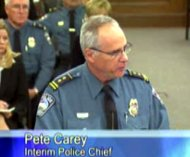 Police Chief Pete Carey