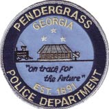 Pendergrass Police patch