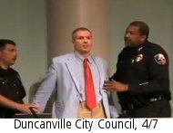 Duncanville City Council, 4/7