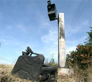 Poland speed camera remains