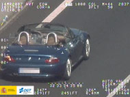 DGT speed camera photo
