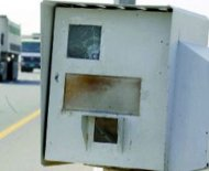 UAE speed camera shot
