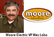 Moore Electric VP Wes Lobo