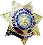 Wyoming Highway Patrol badge