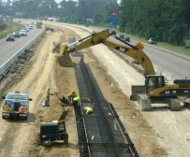 Road widening