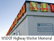 WSDOT highway worker memorial