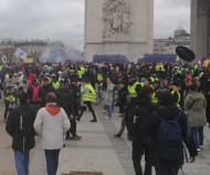 Yellow vest protest March 16