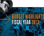 White House budget 2013
