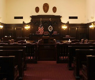 Fifth Circuit courtroom