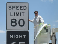 80MPH limit unveiled in Texas