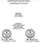 Lee Engineering Report cover