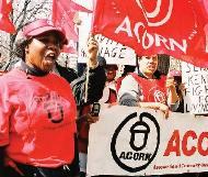 ACORN protesters