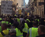 Act 19 protest in France