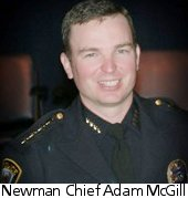 Newman Police Chief Adam McGill