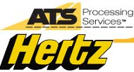 ATS and Hertz logos