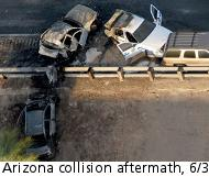 Arizona rear end collision, 6/3/09